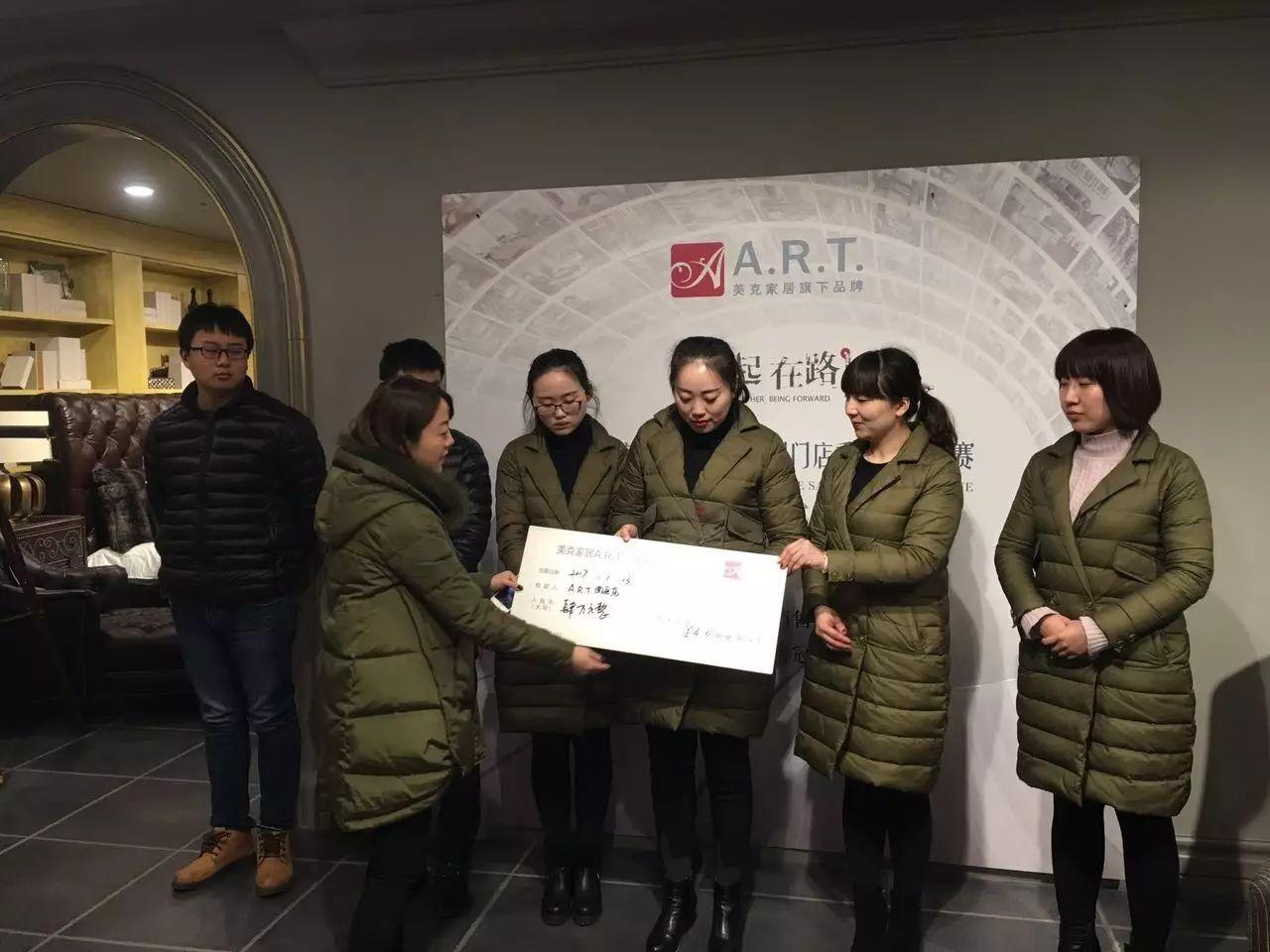 热烈恭喜南通美克A.R.T.团队荣获B类都会第四序度亚军&11月份冠军!