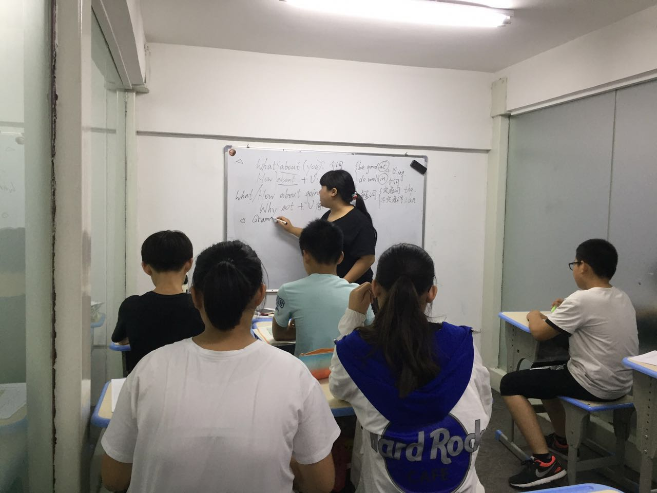 新杏林|周末英语课现场视频