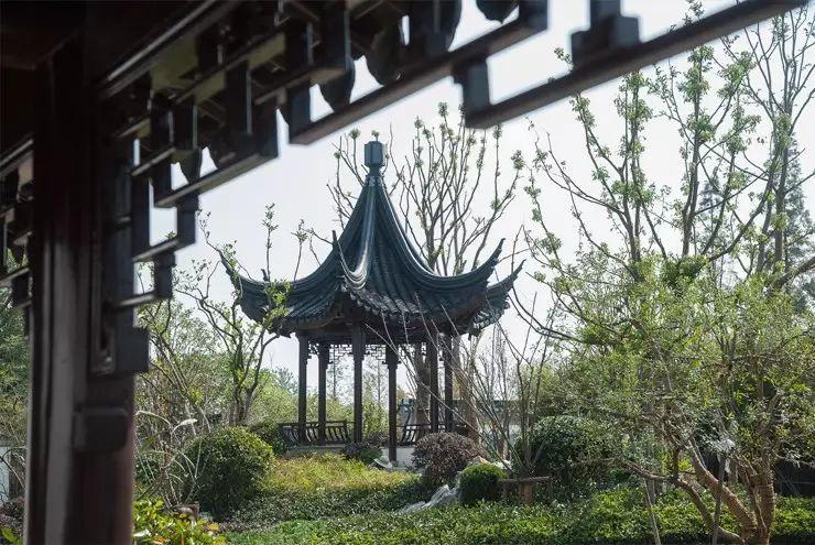 【南通笔墨林】有图有原形,九里兰亭的实景来了!