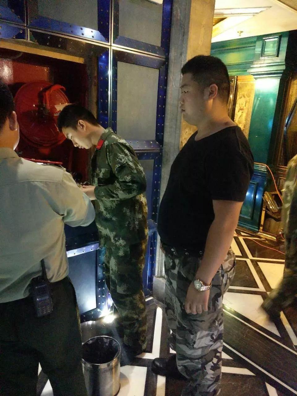 UNA CLUB丨2017.10.02#南通消防大队与UNA酒吧消防联合演习