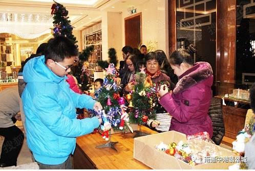 中港·翡翠城圣诞聚翡翠 高兴齐相会