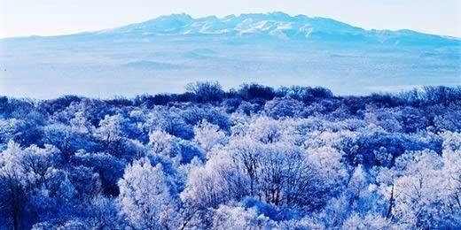 【奢华冰雪】入住万达喜来登6人精品小包东航直飞长白山天池火山温泉SPA老里克湖雾凇盛景