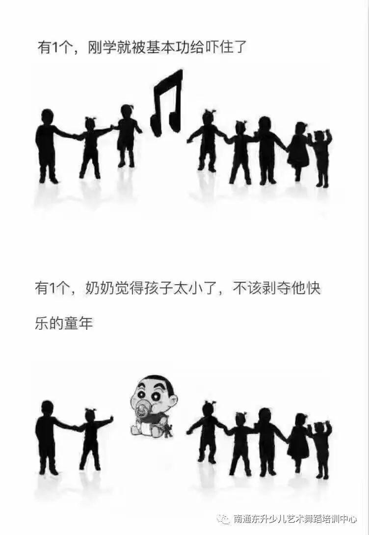 舞蹈的学习,离不开家长的支持,孩子的对峙!
