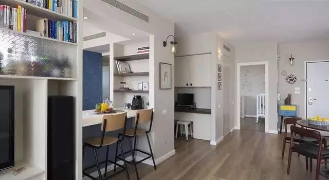 两室两厅优雅设计,你喜好吗?