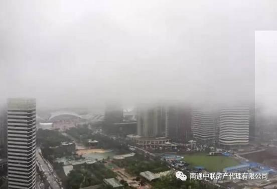 南通城遭遇暴雨打击:你想晓得的雨情都在这里!