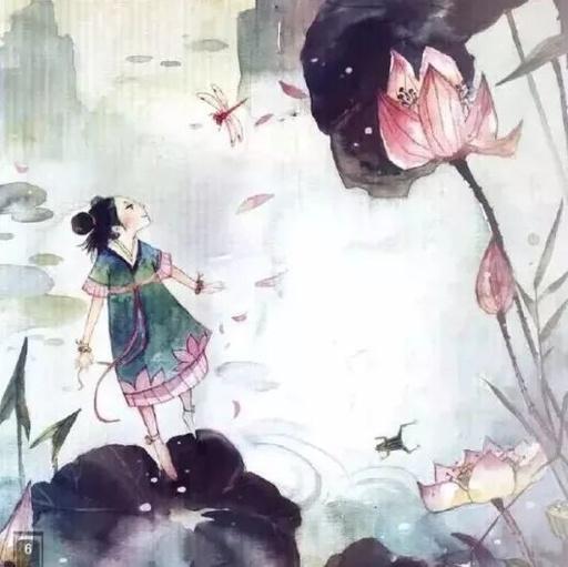 【爱育幼童  睡前故事】荷花仙子