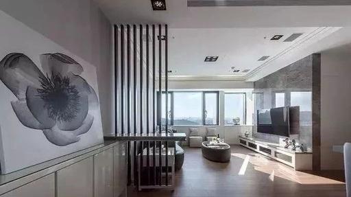 【盛庭装饰】一推门便是客堂这个玄关怎样设计?