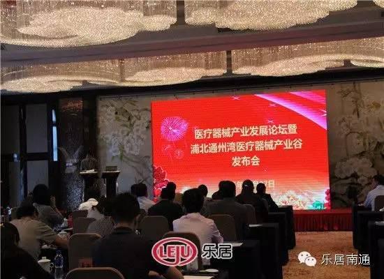 医疗东西财产开展论坛暨浦北通州湾医疗东西财产谷公布会盛大举行