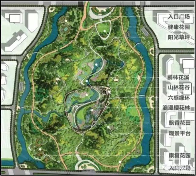 南通地方丛林公园已公示!计划非常诱人